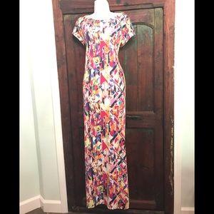 🌺Xhilaration Pop Art Maxi Dress, Sz XL 🌺